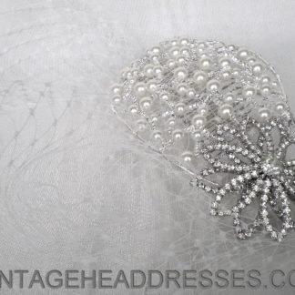 Birdcage Veil Headpiece