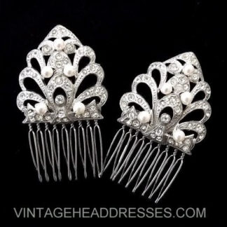 Art Deco Hair Combs