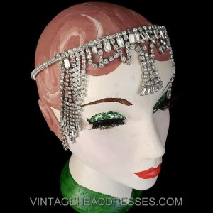 Egyptian Rhinestone Headpiece