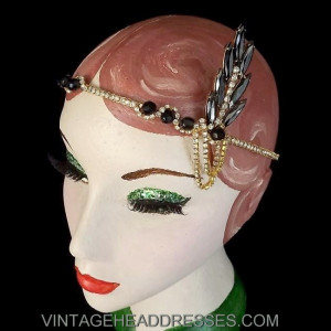Gold Great Gatsby Headpiece