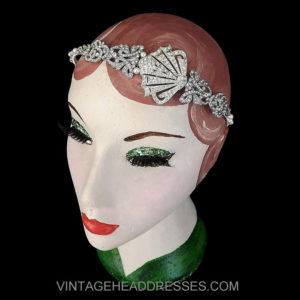 Vintage Art Deco Fan Headband
