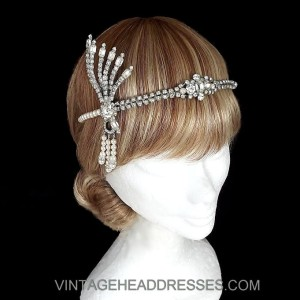 Vintage Great Gatsby Headpiece
