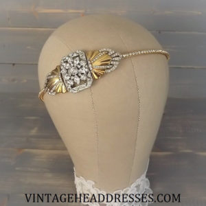 Gold and Silver Headband