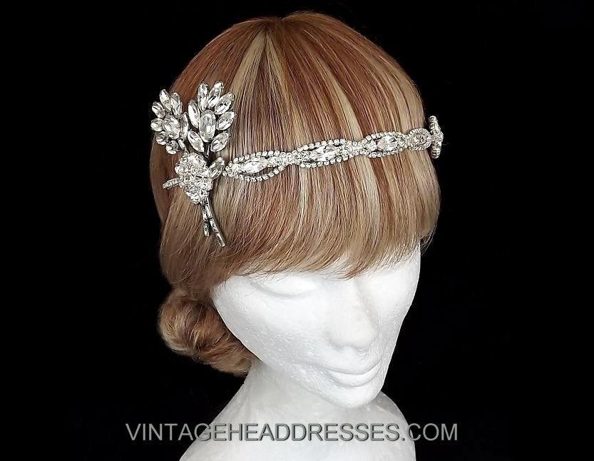Vintage Great Gatsby Headpiece by Debbi Harrison Bond e253743ed92