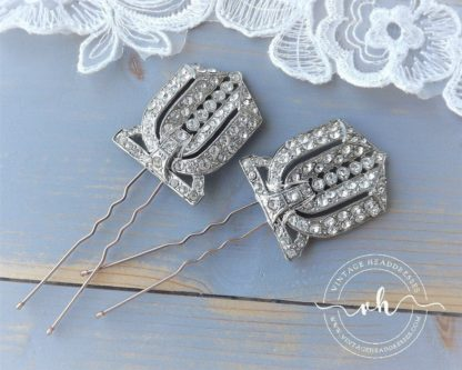 1920 S Bridal Hair Pins